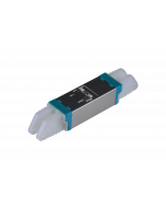 E2000™ Compact Adapter, metal/blue-blue, Ceramic SM, C, Snap-In