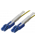 HD - FO Patch cord LC HD/ LC HD Duplex Mini 9/125µ, FRNC, OS2, Crossover, Length: xxxxx in cm