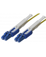 HD - FO Patch cord LC HD/ LC HD Duplex 9/125µ, FRNC, OS2, Crossover, Length: xxxxx in cm