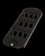 tBL® - Bodentank-Einsatz für 9x RJ45 Keystonemodul für Ackermann GES9