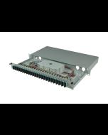 tBL® - LWL Spleißbox 19'' 1HE MM 24x SC Duplex OM3, spleißfertig vorbereitet