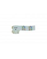 tBL® - termination block AWG 26-27, transparent white for stranded cables