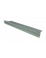 """tBL® - Patch Panel 19"""" 1U 24x RJ45 Cat.6<sub>A</sub> with LID, termination block AWG 22-24"""