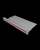 """tBL® - LWL Breakoutpanel 19"""" 1HE 12x LC Duplex Adapter, aqua"""