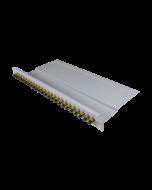 "tBL® - LWL Breakoutpanel 19"" 1HE 24x SC Simplex Adapter, beige"
