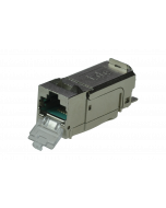 tBL® - RJ45 Keystone Module Cat.6A ISO/IEC with LID, termination block AWG 26-27