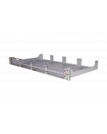 tML® - Rack Mount Enclosures 19''/1U stainless steel frontplate for 8 x modules