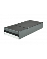 tML® - Consolidationpoint-Housing for up to 2x CU- or FO-modules, black