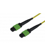tML® - FO Micro Distribution Trunk Cable both sides 1x MPO/MTP® Female 12E9/125µ OS2 LSOH, Type C, Length: xxx