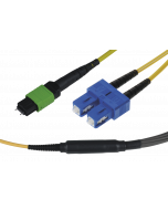 tML® - FO Fan-out Cable MPO/MTP® with Pins/6x SC Duplex 12E9/125µ LSOH, Length: xx
