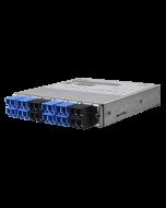 tML® HD - Fiber Optic TAP Module LC APC Duplex 4x 9 / 125μ OS2 10GBASE-LR 50:50