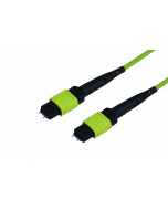 tML® Xtended - FO Micro Distribution trunk cable both sides 1xMPO/MTP® w. Pins 12G50/125µ OM5 LSHF, Type B, Length: xx in m