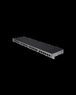 "tSML - TP Module 19""/0.5U straight 24x RJ45/4x Telco Gigabit Ethernet shielded"