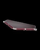 "tSML - FO Dark Fiber Module 19""/0.5U angled 16x MPO/MTP® Male/ 24x MPO/MTP® Male 50/125µ OM4, SR4"