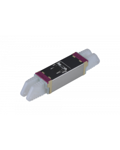 E2000™ Compact Adapter, metal/beige-magenta, Ceramic MM, M, Snap-In