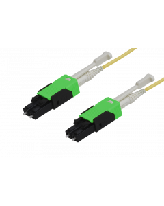 HD - FO Patch cord switchable LC APC HD / LC APC HD Duplex Mini 9/125µ, FRNC, OS2, Crossover, Length: xxxxx in cm