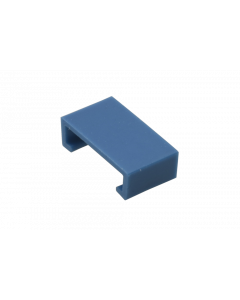 Color clip for LC HD Push-Pull Tab, blue