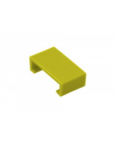 Color clip for LC HD Push-Pull Tab, yellow