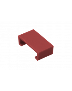 Color clip for LC HD Push-Pull Tab, red