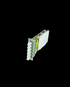 tBG2 - FO Premium splice module 6x E2000 Compact APC SM 3U/7HP with pigtails 09/125µ