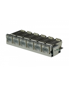tBL® - RJ45 DC 6er Modul Cat.6<sub>A</sub> ISO/IEC inkl. Termination Block AWG 26-27