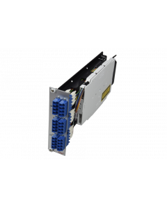 tDF® - FO splice to patch HD module 6x LC PC Quad SM 3U/7HP with pigtails 9/125µ OS2
