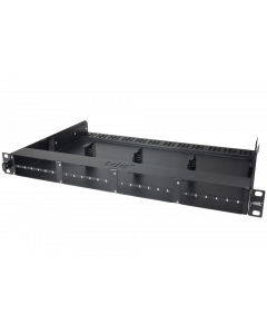 tML® - Rack Mount Enclosures 19''/1U with drawer pull-out for 8 x modules