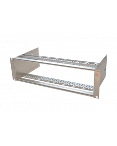tML® - Rack Mount Enclosure 19''/3U stainless steel for 17 x modules 5HP