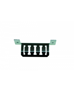 tML® - Cable Mounting Bracket Breakout 4fold for Rack Mount Enclosures extendable 1U for 6x Modules