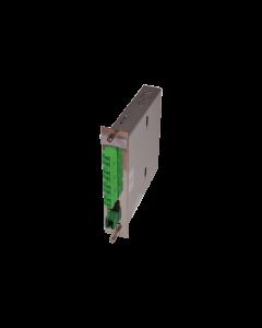 tML® - LWL Breakoutmodul 5TE schwarz MPO/MTP® m. Pins/4x LC APC Duplex 9/125µ OS2 40GbE