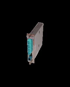 tML® - LWL Breakoutmodul 5TE schwarz MPO/MTP® m. Pins/4x LC Duplex 50/125µ OM3 40GbE