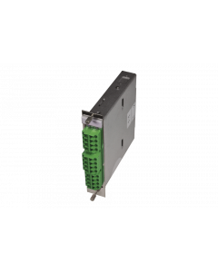 tML® Xtended - FO Module 5HP 2x MPO/MTP® without Pins/12x LC APC Duplex 9/125µ OS2