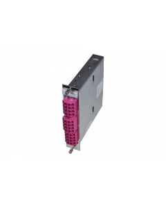 tML® Xtended - FO Module 5HP 2x MPO/MTP® without Pins/12x LC Duplex 50/125µ OM4