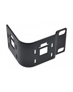 tPM - Panel 90° angled without cable guide holders, mounting on the left, black