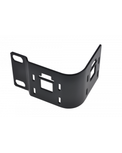 tPM - Panel 90° angled without cable guide holders, mounting on the right, black