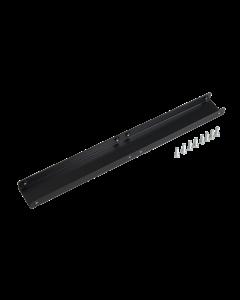 tPM - Verbindungsschiene für tPM Trägerplatten vertikal inkl. Befestigungsschrauben, schwarz