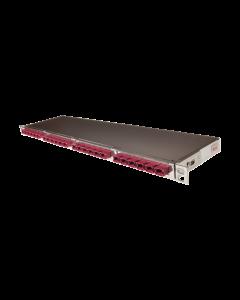 "tSML - LWL Dark Fiber Modul 19""/0.5HE gerade 16x MPO/MTP® Male/ 24x MPO/MTP® Male 50/125µ OM4, SR4"
